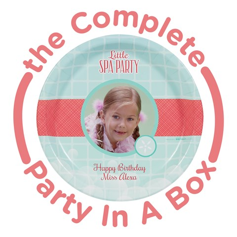 Little Spa Party Personalized Party in a Box