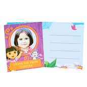 Dora's Flower Adventure Personalized Thank-You Notes (8)