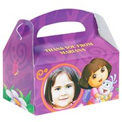 Dora's Flower Adventure Personalized Empty Favor Boxes (8)