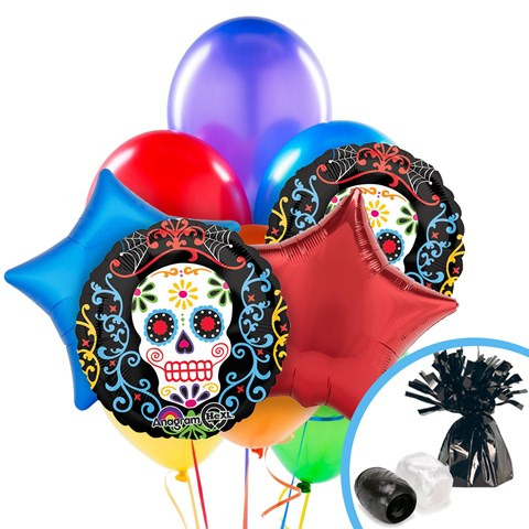 Day of the Dead Balloon Bouquet