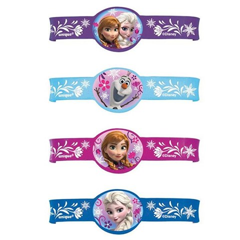 Disney Frozen Rubber Charm Bracelets (4)