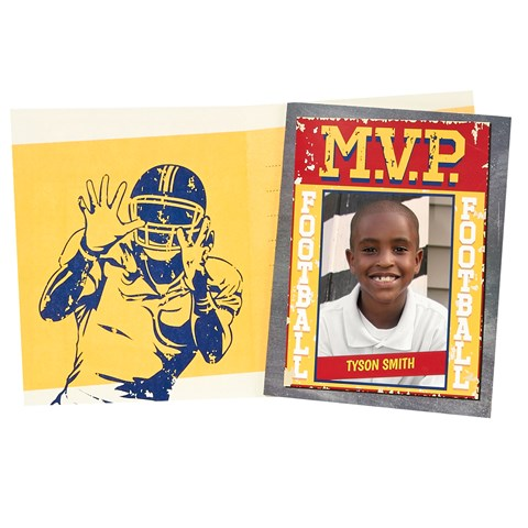 Football Game Time Personalized Thank You Notes (8)