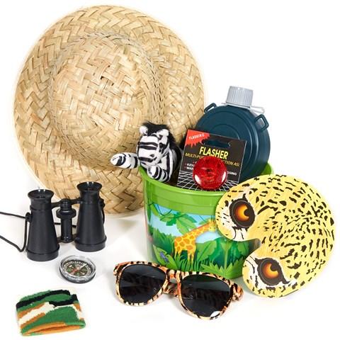 Safari Filled Party Favor Bucket