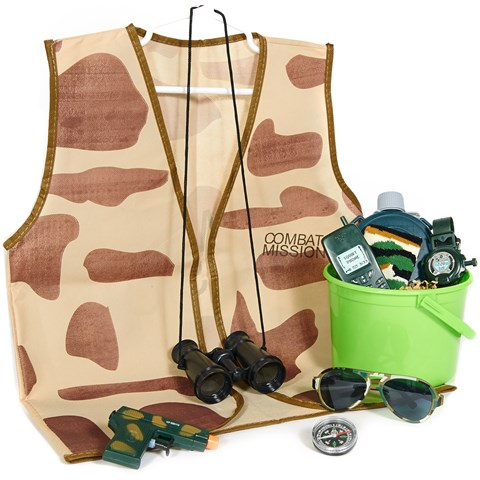 Camo Filled Party Favor Bucket