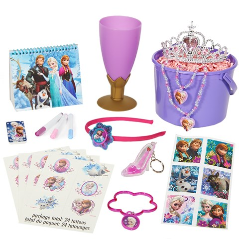 Frozen Filled Party Favor Bucket