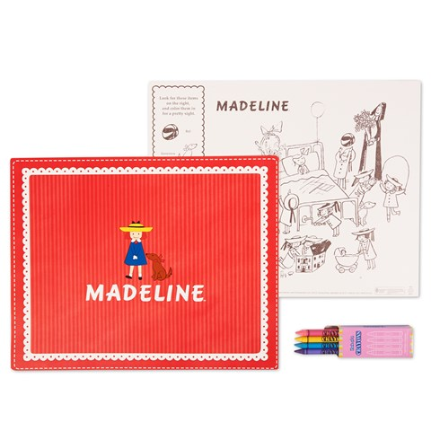 Madeline Activity Placemat Kit for 4