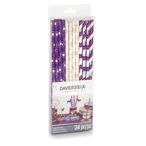 David Tutera Casual Elegance Paper Straws (24)