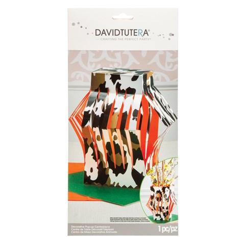 David Tutera Wild Side Die Cut Vase Centerpiece