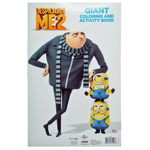 Despicable Me Giant Coloring Book