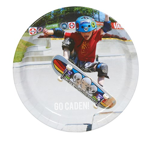 Boys Sports Personalized Dinner Plates (8)