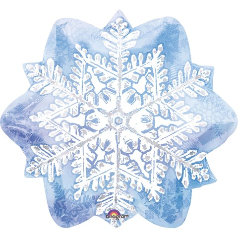 Let it Snow Snowflake Foil Balloon