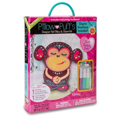 Pillow Puff 3D Large Monkey Kit
