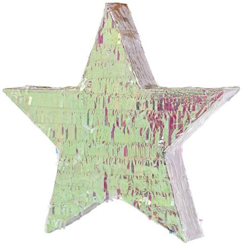 Iridescent Star Foil Pinata