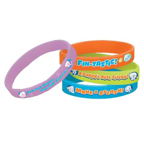 Bubble Guppies Rubber Bracelets (4)