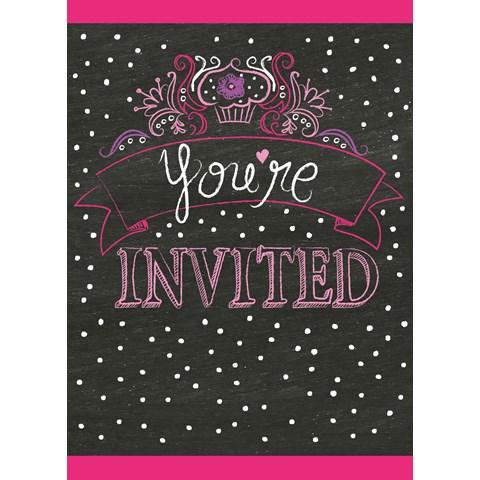 Birthday Girl Sweets Invitations (8)