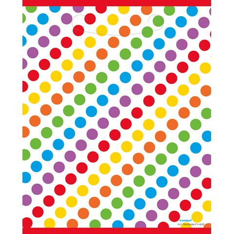 Rainbow Birthday Party Treat Bags (8)