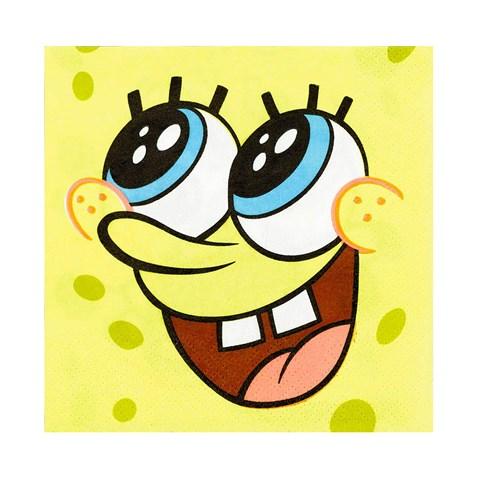 SpongeBob Classic Beverage Napkins (16)
