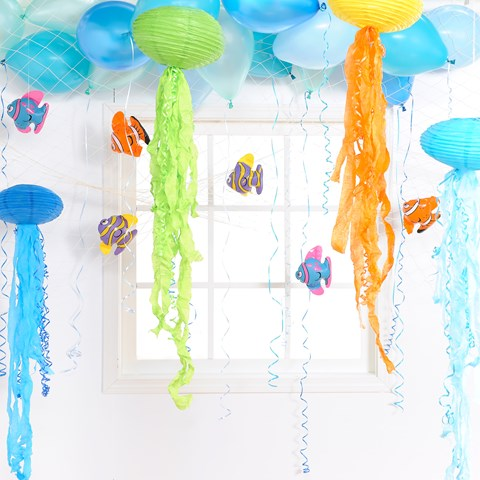 D.I.Y. Sea Life Hanging Decor