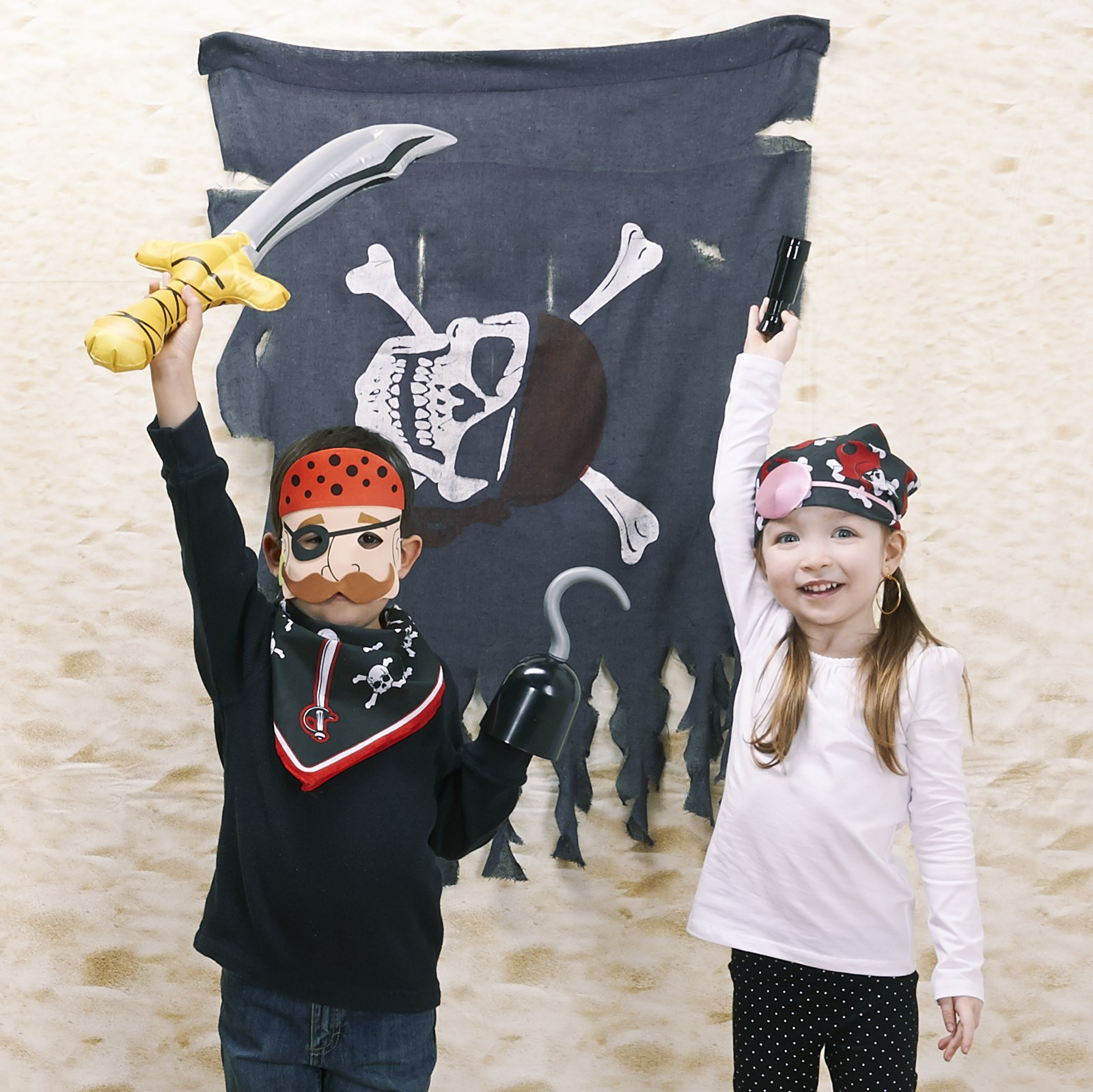 Little Pirates - Photo Booth Kit - Photo Booth Materials