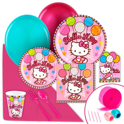 Hello Kitty Balloon Dreams Value Party Pack