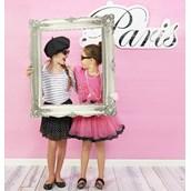 Paris Damask - Photo Booth Kit