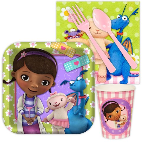 Disney Junior Doc McStuffins Snack Party Pack