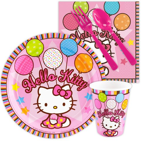 Hello Kitty Balloon Dreams Snack Party Pack