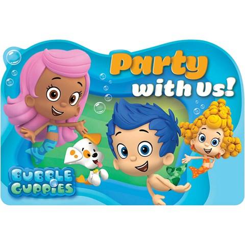 Bubble Guppies Invitations (8)