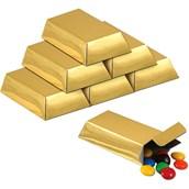 Foil Gold Bar Favor Boxes (12)