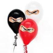 D.I.Y. Ninja Warrior Balloon Room Decor