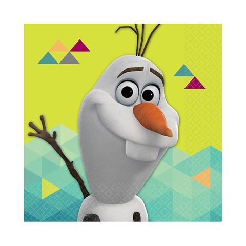 Disney Olaf  Beverage Napkins (16)