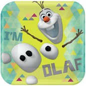 Disney Olaf Square Dinner Plates (8)