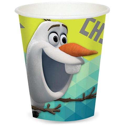 Disney Olaf  9 oz. Paper Cups (8)