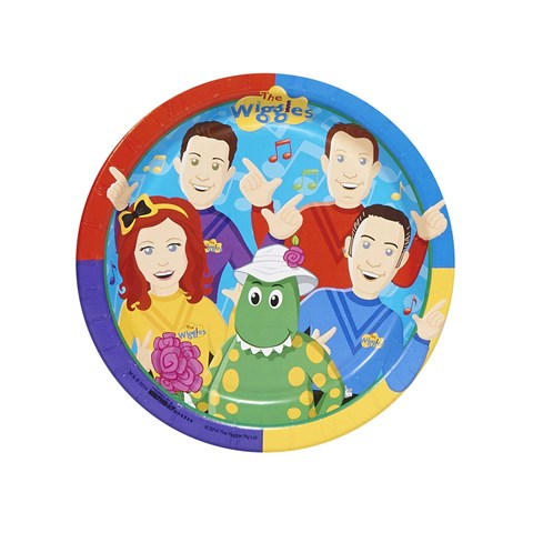 The Wiggles Dessert Plates (8)