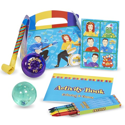 The Wiggles Filled Party Favor Box