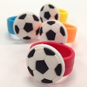 Rubber Soccer Rings (12)