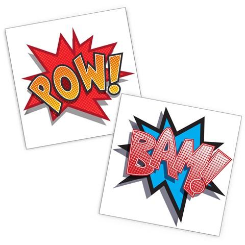 Superhero Comics Tattoos
