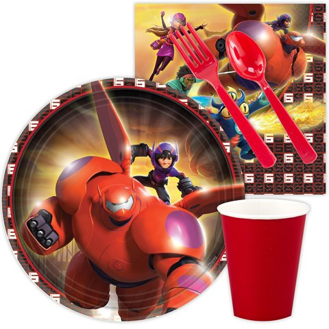 Disney Big Hero 6 - Snack Party Pack