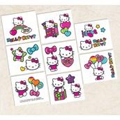 Hello Kitty Rainbow Tattoos