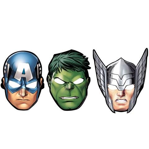 Avengers Assemble Paper Mask Assortment (8)