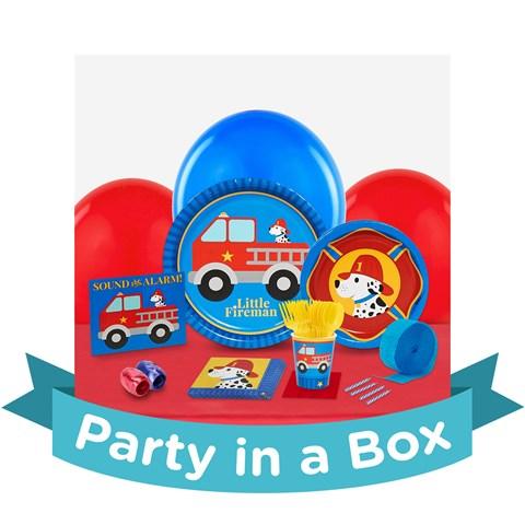 Little Fireman Party in a Box