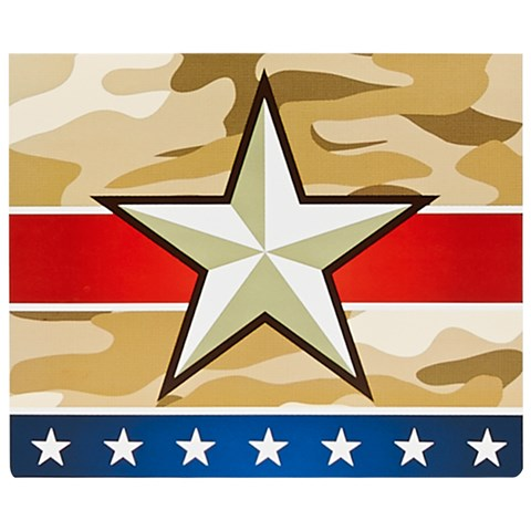 Camo Army Soldier Thank You Notes