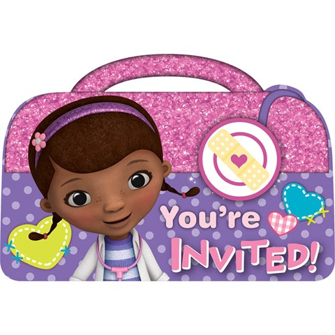Disney Junior Doc McStuffins Invitations