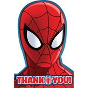 Spider Hero Dream Party Thank You Notes