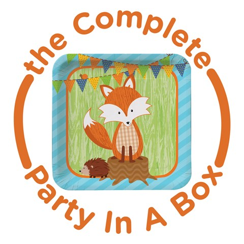 Forest Fox Party in a Box