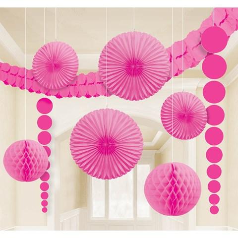 Pink Paper Decorating Kit