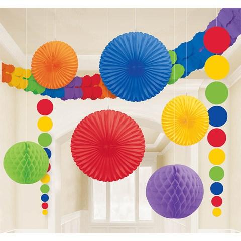 Rainbow Paper Decorating Kit