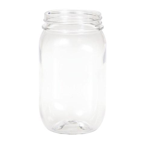 Plastic Mason Jar