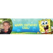 SpongeBob Personalized Photo Banner