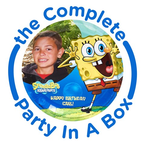 SpongeBob Personalized Party in a Box